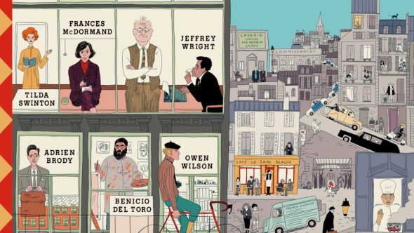Wes Anderson the french dispatch poster