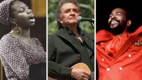 Nina Simone, Johnny Cash, and Marvin Gaye