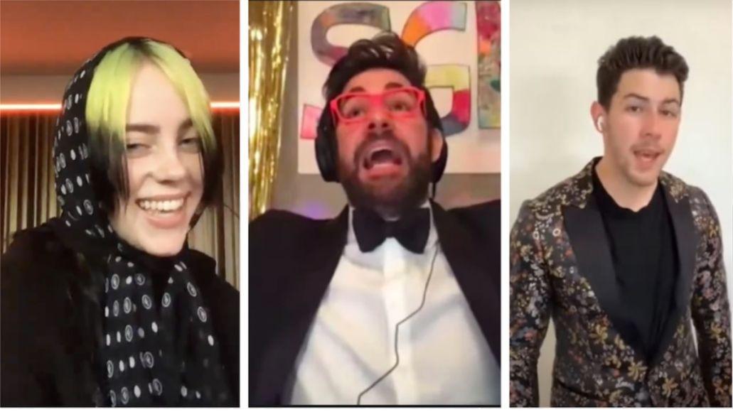 Billie Eilish, John Krasinski, and the Jonas Brothers virtual prom livestream digital Chance the Rapper
