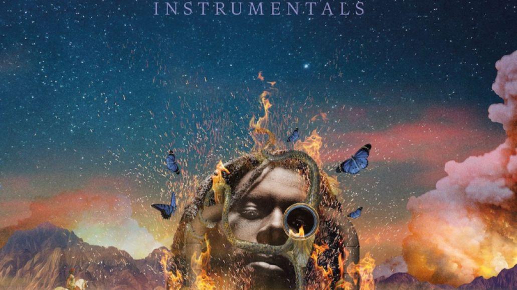 Flamagra (Instrumentals) by Flying Lotus album artwork cover art