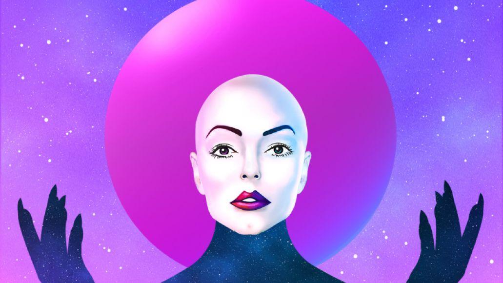 Planet9AlbumCover 1500x1500@144ppi Rose McGowan Announces Debut Album Planet 9, Shares Sampler Mix: Stream