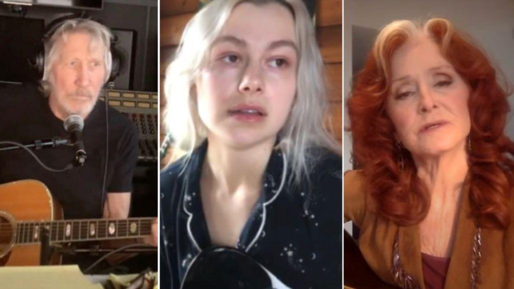 Roger Waters, Phoebe Bridgers, Bonnie Raitt pay tribute to John Prine