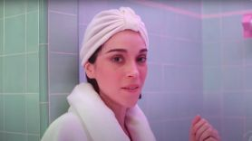 St. Vincent shower sessions podcast interview Annie Clark