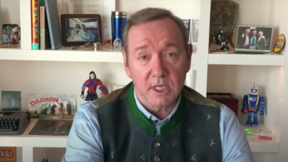 Kevin Spacey Compares Sexual Assault to Pandemic Pretzels and Bits YouTube MeToo Coronavirus COVID-19