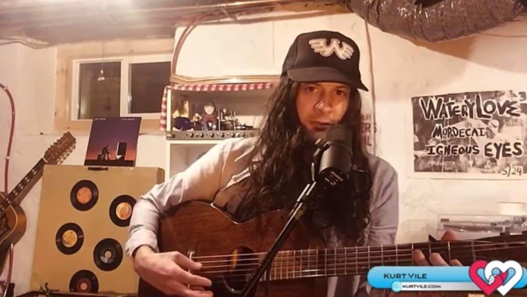 kurt-vile-cover-john-prine-stone-video-watch-love-philly-livestream