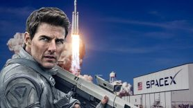 Tom Cruise Elon Musk Space X