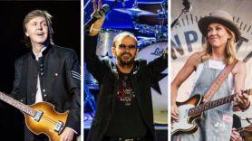 Ringo Starr birthday show livestream party Paul McCartney (photo by MJ Kim), Ringo Starr (photo by Philip Cosores), and Sheryl Crow (photo by Ben Kaye)