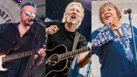 Jason Isbell Roger Waters Mavis Staples Newport Folk Festival Folk on revival weekend livestream