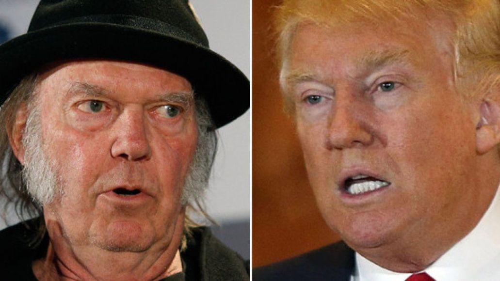 Neil Young Donald Trump