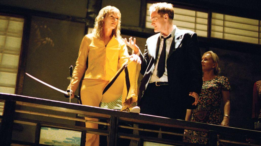 Quentin Tarantino Uma Thurman Kill Bill 1