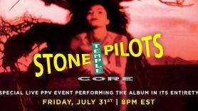 Stone Temple Pilots Core concert Stream