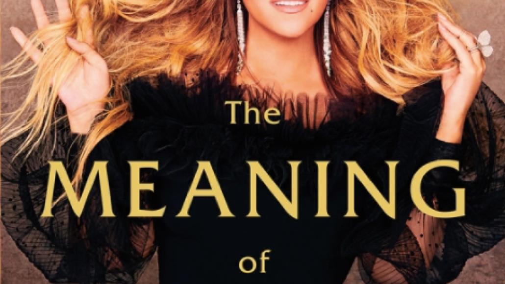 The Meaning of Mariah Carey ARtwork Mariah Carey Announces Unfiltered Memoir, The Meaning of Mariah Carey