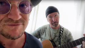 U2 stairway to heaven cover stream Bono and The Edge (YouTube)