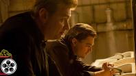 Christopher Nolan and Leonardo DiCaprio in Inception