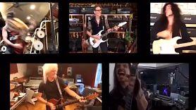 Brian May and guitar virtuosos Bohemian Rhapsody
