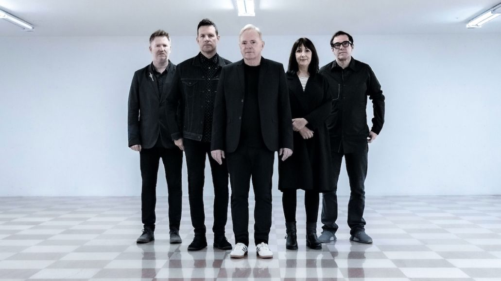 New Order Be a Rebel new song stream new music, photo by Warren Jackson