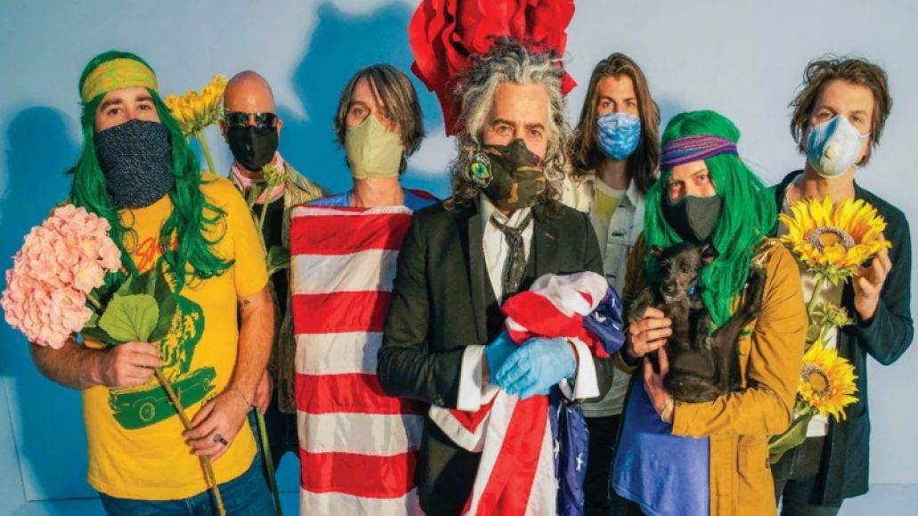 the flaming lips american head album stream new music The Flaming Lips Wayne Coyne on the Bands Space Bubble Shows: Its Safer Than Going to the Grocery Store