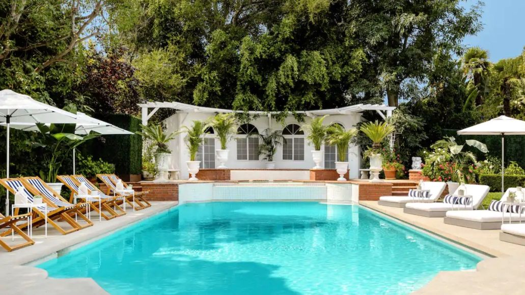 will smith fresh prince of bel-air house rent airbnb 1