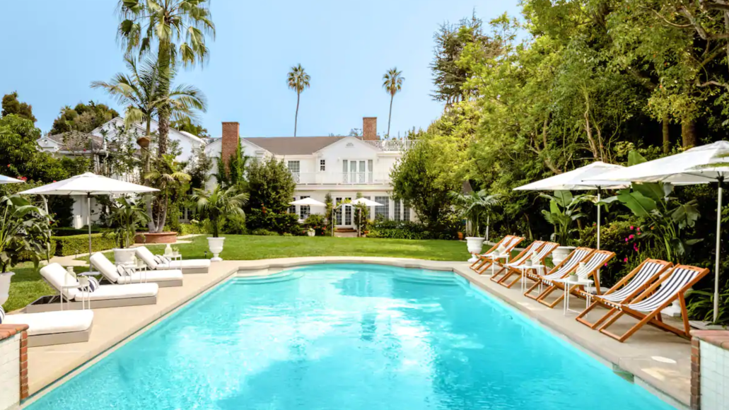 will smith fresh prince of bel-air house rent airbnb 4