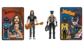 Lemmy and Rob Halford action figures