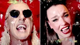 Dee Snider and Lzzy Hale Christmas song
