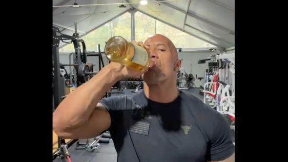 Dwayne Johnson tequila