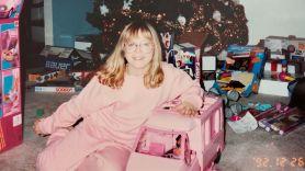 U.S. Girls Santa Stay Home stream Christmas song new music holiday Meg Remy, photo courtesy of U.S. Girls