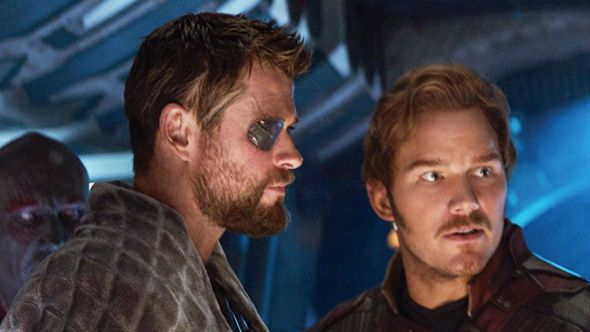 thor love and thunder chris pratt star-lord guardians of the galaxy