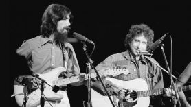 George Harrison and Bob Dylan 1970 release recordings album session, photo Bill Ray/The LIFE Picture Collection