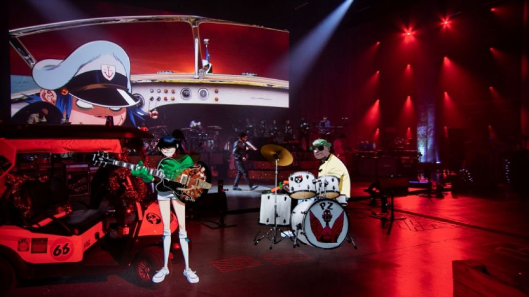 Gorillaz Song Machine Live From Kong