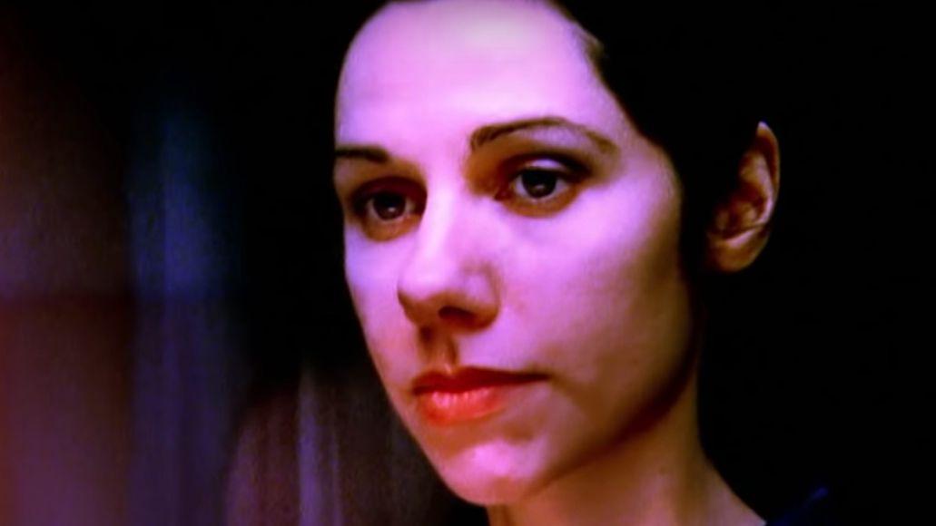 """PJ Harvey in video for """"Angelene"""""""