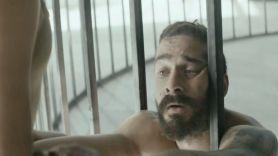 "Shia LaBeouf in Sia's video for ""Elastic Heart"""