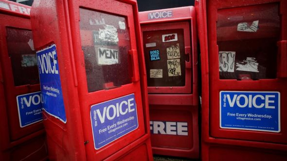 The Village Voice 2021 relaunch alt-weekly relaunched revived back print