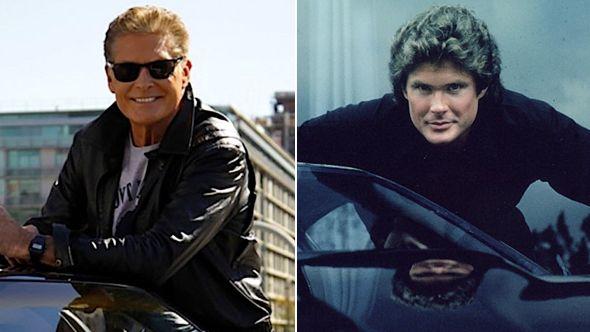 David Hasselhoff talks new Knight Rider Movie