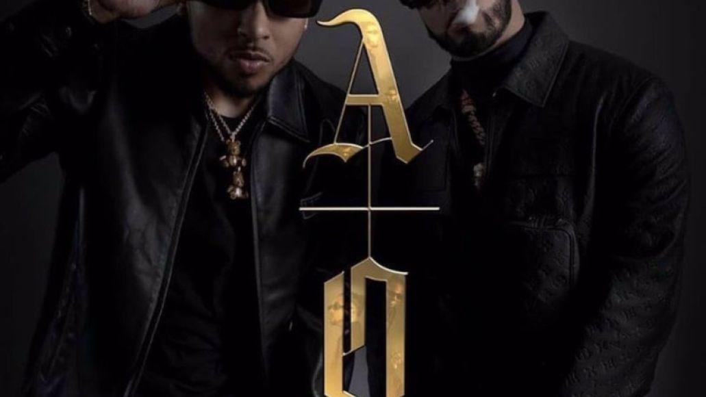 Los Dioses by Ozuna and Anuel AA album artwork cover art