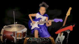 Nandi Bushell cover Led Zeppelin immigrant song watch stream