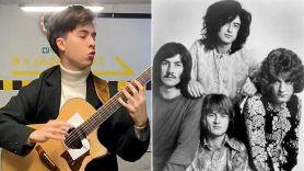 Former America's Got Talent Contestant Marcin Covers Led Zeppelin
