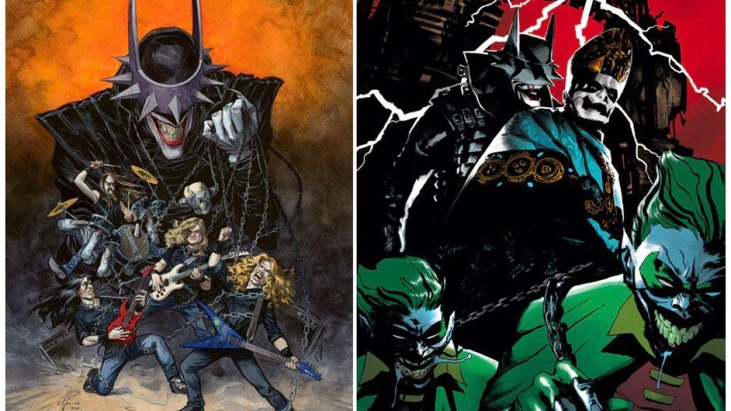 Megadeth and Ghost DC Comics