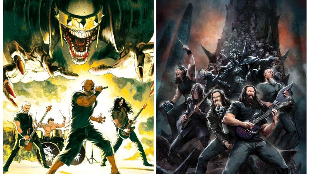 Sepultura and Dream Theater DC Comics