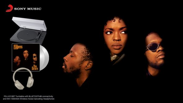 fugees opus podcast giveaway the score vinyl turntable headphones