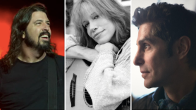 rock n relief foo fighters carly simon perry farrell sean penn linda perry