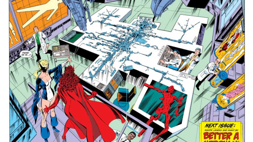 vision 2 WandaVision Dusts Off the Comics to Tease Visions Future