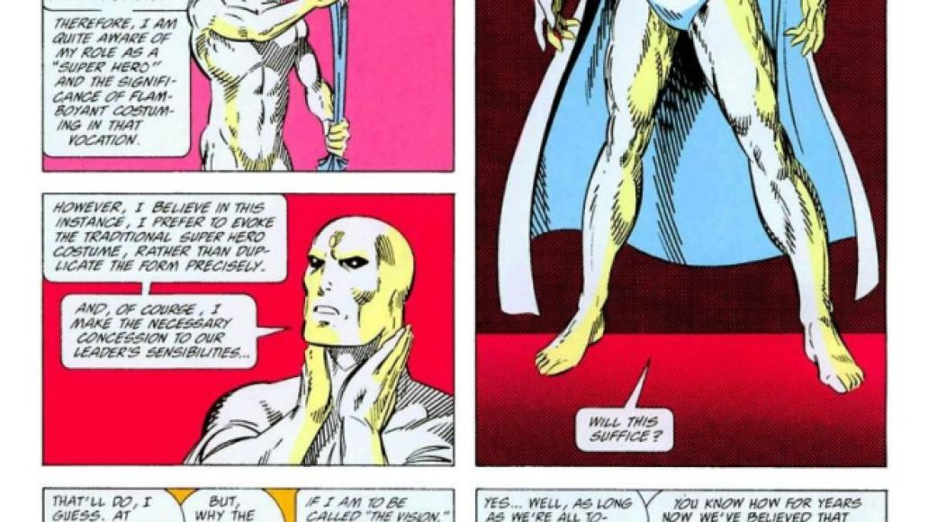 vision WandaVision Dusts Off the Comics to Tease Visions Future