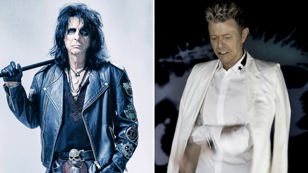 Alice Cooper David Bowie influenced by my show