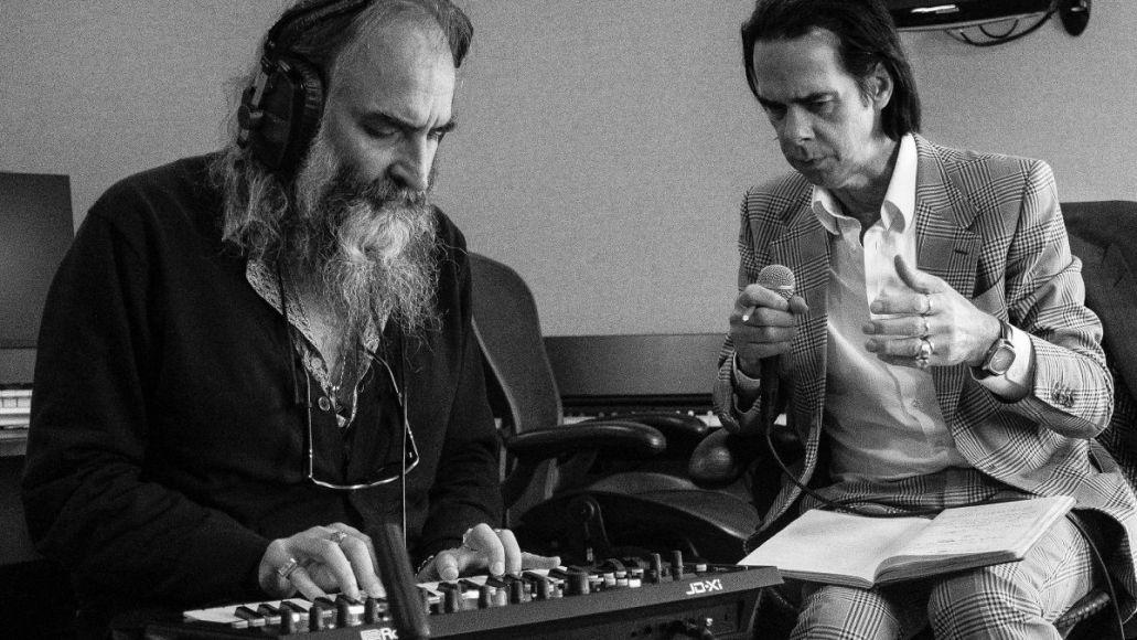 Nick Cave and Warren Ellis, photo by Joel Ryan