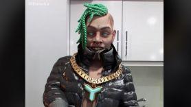 FN Meka Speed Demon music stream robot rapper song FNMeka, screengrab via TikTok