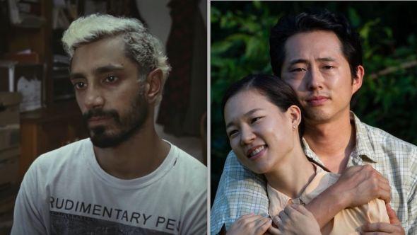 Riz Ahmed Best Actor Steven Yeun Academy Awards nominee Oscars history Riz Ahmed (Amazon) and Steven Yeun (A24)