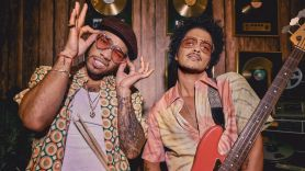 Silk Sonic live Grammys 2021 Bruno Mars Anderson .Paak group band project