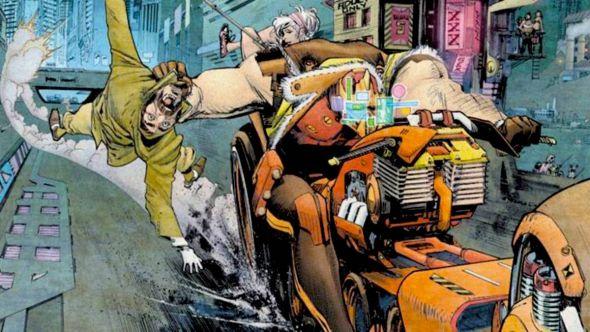 Tokyo Ghost movie adaptation comic book film Cary Fukunaga Tokyo Ghost (Image Comics)