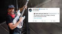 Tom Morello Not White Tweet